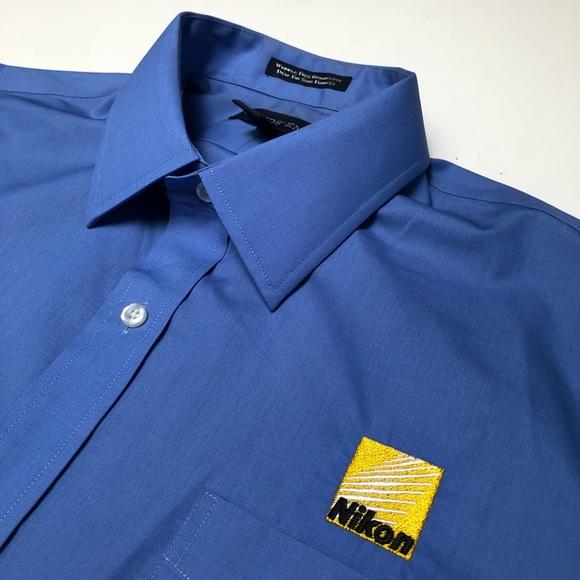 4eb7c0b7 Lands' End Shirts | Lands End Nikon Camera Button Down Japan Photo ...